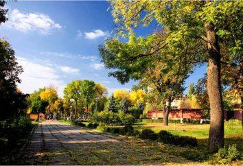 Lipetsk: Lower Park. História e descrição do objeto