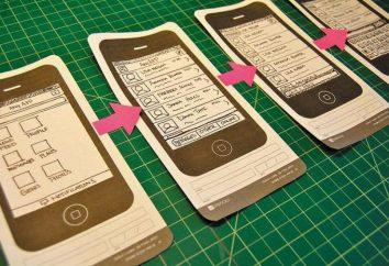 Prototipado – es un diseño esquemático de una página o páginas de un sitio