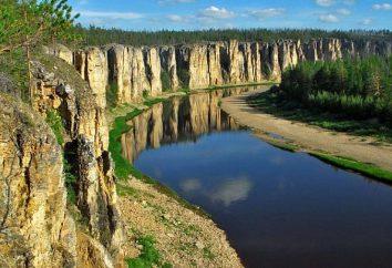 Krótki opis rzeki Lena: lokalizacja, hydrologia i wykorzystanie gruntów rolnych