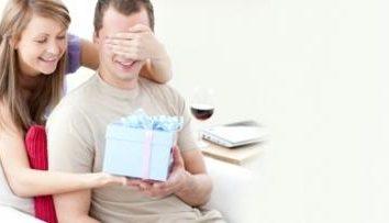 Dom para o homem no dia do nascimento: o que escolher?
