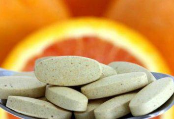 Quelles sont les vitamines pour les hommes de plus de 40 ans doivent prendre?