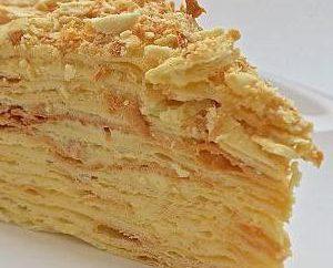 Recette: gâteau à la crème hachée. Option gâteau haché avec du lait condensé