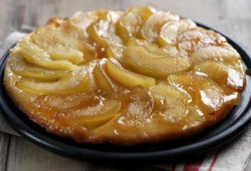 """Francês Pie """"Tarte Tatin"""" com maçãs: Receita"""