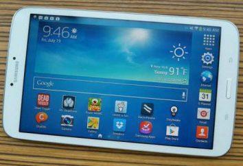 Tablet Samsung Galaxy Tab 3 8,0 SM-T311: características e comentários