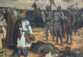 Kluczowe punkty i przesłanki Stary rosyjski Oświaty Stanu