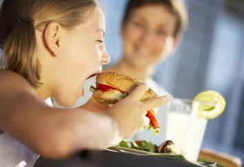 Pas d'appétit chez l'enfant