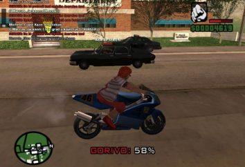 """Como introduzir o código no """"GTA San Andreas"""". Todos os códigos"""