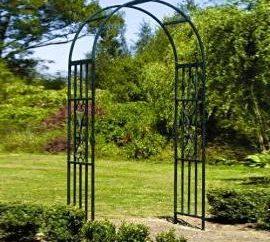 Arc jardin en métal