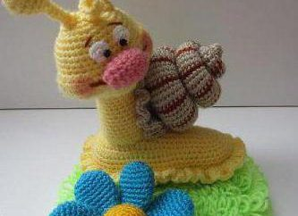 giocattoli crochet da descrizione Elena Belova. Giocattoli con le proprie mani