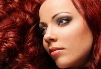 Como obter a cor do cabelo castanho-avermelhado?