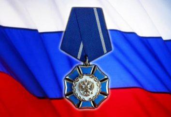 "Ordem de Honra e da Ordem ""Badge of Honor"""