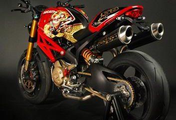 Ducati Monster – uma obra-prima da indústria de motocicletas italiana