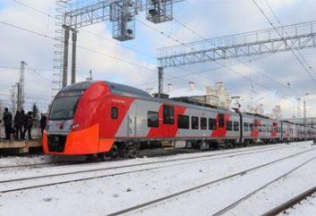 Voyage en train et en bus de Petrozavodsk à Saint-Pétersbourg et à l'arrière