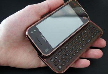 Mini N97 Nokia: Charakterisierung, Bewertung und Feedback