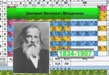 Sistema periodico: classificazione degli elementi chimici