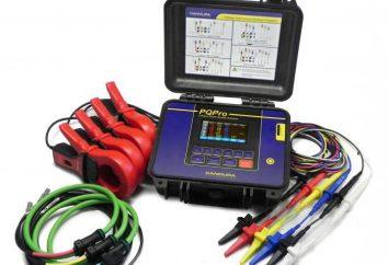 Analizator jakości energii. Przyrządy do energii elektrycznej