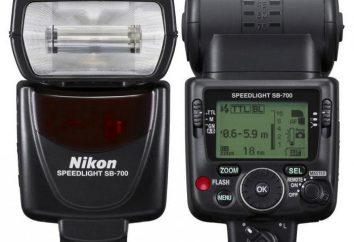Lampa błyskowa Nikon SB-700: przegląd, funkcje opinii specjalistów