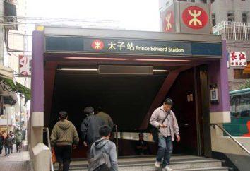 Hong Kong Metro: godziny pracy, stacja