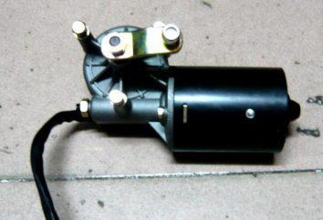 Motor anilha de pára-brisas. Onde é? Manutenção e reparação. motora anilha