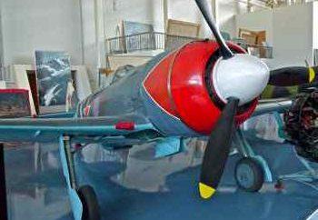 Il velivolo La-7: Specifiche, disegni, foto