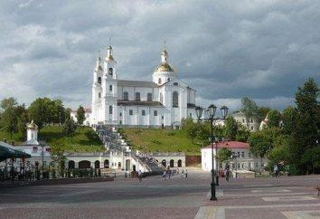 Vitebsk, Catedral da Assunção: foto e história