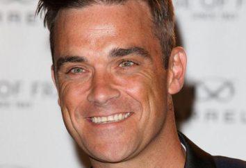 Robbie Williams: biografia, vida pessoal, criatividade. O cantor e ator britânico Robbie Williams