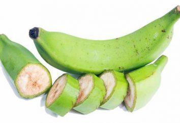 Grüne Bananen: die Vorteile und Nachteile, Eigenschaften, Kalorien