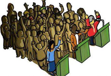 """O que o conceito de """"regime político""""? Conceito, essência, características, tipos, formas de regime político do Estado"""