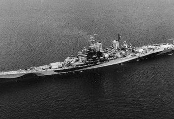 """Battleship """"Missouri"""" – o proprietário do Pacific"""