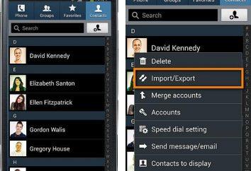 """Gdzie są kontakty w """"Android"""": wskazówki na znalezienie kontaktów"""