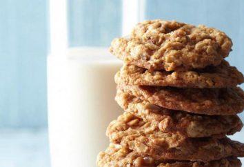 Cookies para mães que amamentam – uma receita. Galetnoe, aveia, biscoitos de queijo cottage para as mães com a amamentação