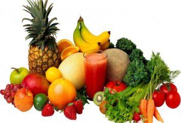 Menu corps de séchage: pas de matières grasses et de glucides
