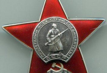Per questo insignito dell'Ordine della Stella Rossa? gli ordini di combattimento e medaglie dell'Unione Sovietica