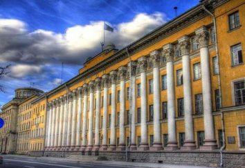 Wojskowa Akademia Przestrzeń nazwie A. F. Mozhayskogo. Mozhayskaya Akademii w Petersburgu