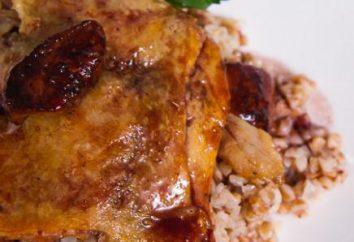 Pato assado no forno com trigo mourisco: receita