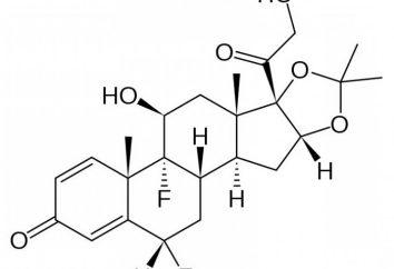 Acétonide de fluocinolone: description et application. noms commerciaux