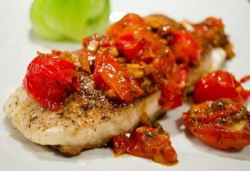 fletán asado: receta de pescado