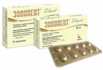 """""""Zolopent"""", 40 mg: istruzioni per l'uso, la composizione, analoghi"""