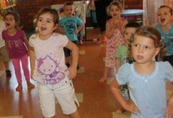 Para as crianças eram saudáveis: fizkultminutka para pré-escolares