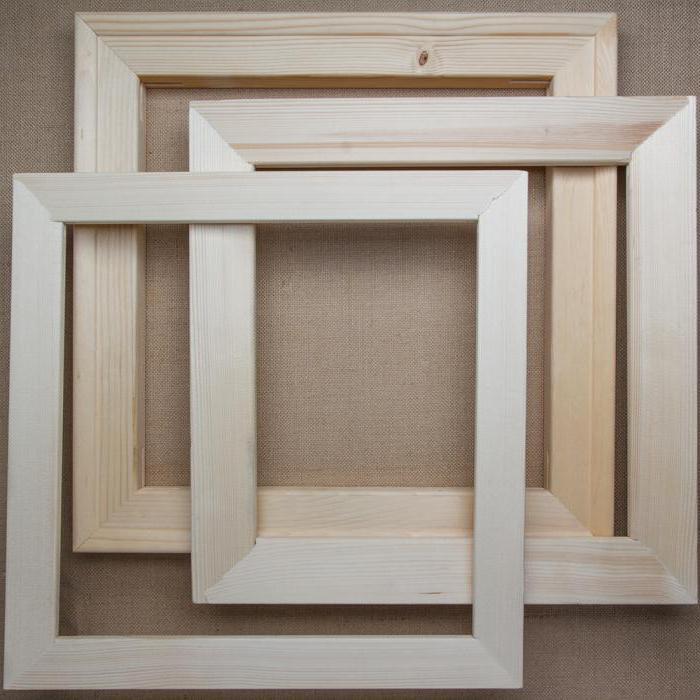 Como hacer un marco para el lienzo con sus propias manos? fabricación de