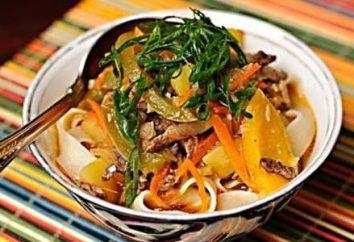 Gotowanie Laghman. Przepis Laghman w uzbecki