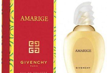 """Espíritus """"Givenchy Amaridzh"""": una descripción del fabricante sabor y comentarios"""