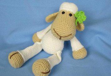 Crochê de crochê de malha. Crochet de carneiros: diagrama, descrição