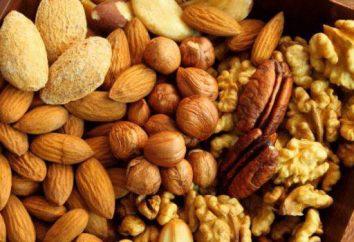 ¿Cuánto por día se puede comer de nogal, cedro, almendra, anacardo?