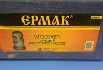 """""""Ermak"""" – nivel láser autonivelante: características, descripción y comentarios"""