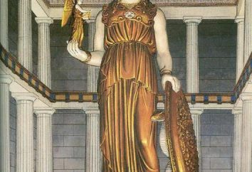 Athena Parthenos: descrizione, la storia e fatti interessanti