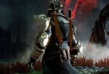Dragon Age – armadura, moda armadura