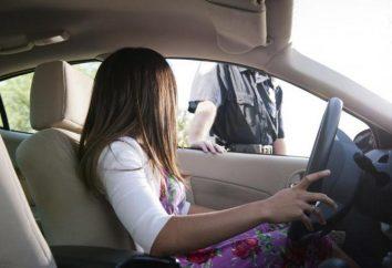 O que acontece se você dirigir um carro sem uma licença? Os perigos de dirigir sem licença?