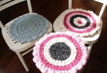 Sidushka em uma cadeira com as próprias mãos: uma variedade de formas e cores