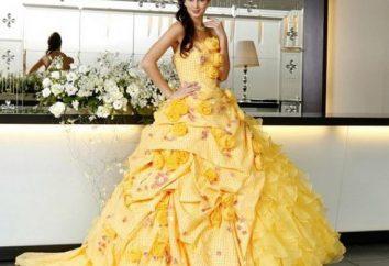 Escolha o vestido amarelo